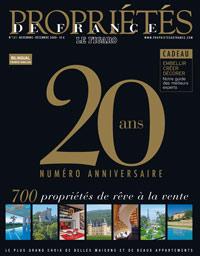 propriétés de france 20 ans 2009  couv