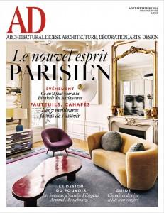 Couverture AD france  aout-septembre 2014 Gallizia